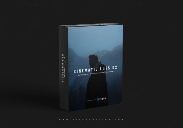 CINEMATIC LUTs 02 | LOG LUTs