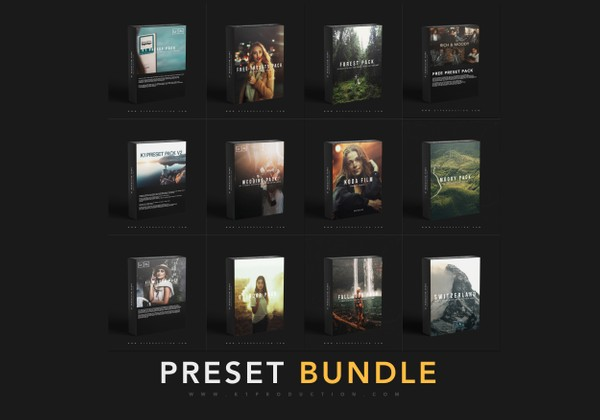 PRESET BUNDLE | 12 PACKS OF PRESETS