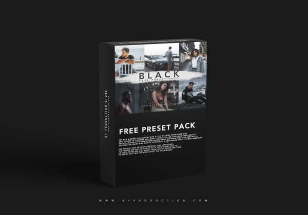 10 FREE BLACK PRESETS