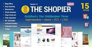 ThemeForest - Shopier v1.4.0 - Responsive Multipurpose WordPress WooCommerce Theme