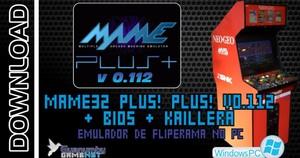 Mame Plus Emulator to PC + 6000 ROMS
