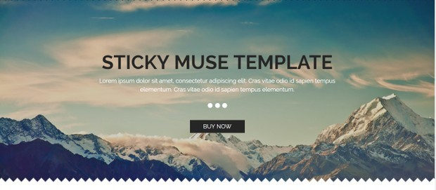 Sticky - The Muse Template