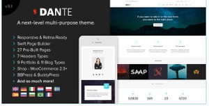 Dante v3.15 – Responsive Multi-Purpose WordPress Theme
