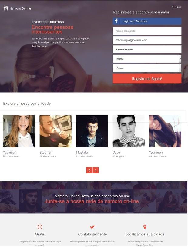 Namoro Online - Find your perfect match