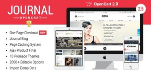 Journal - Advanced Opencart Theme