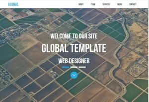 Global - landing page responsive