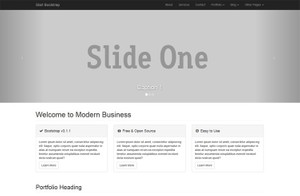 Modern Business - Site Multipage responsive