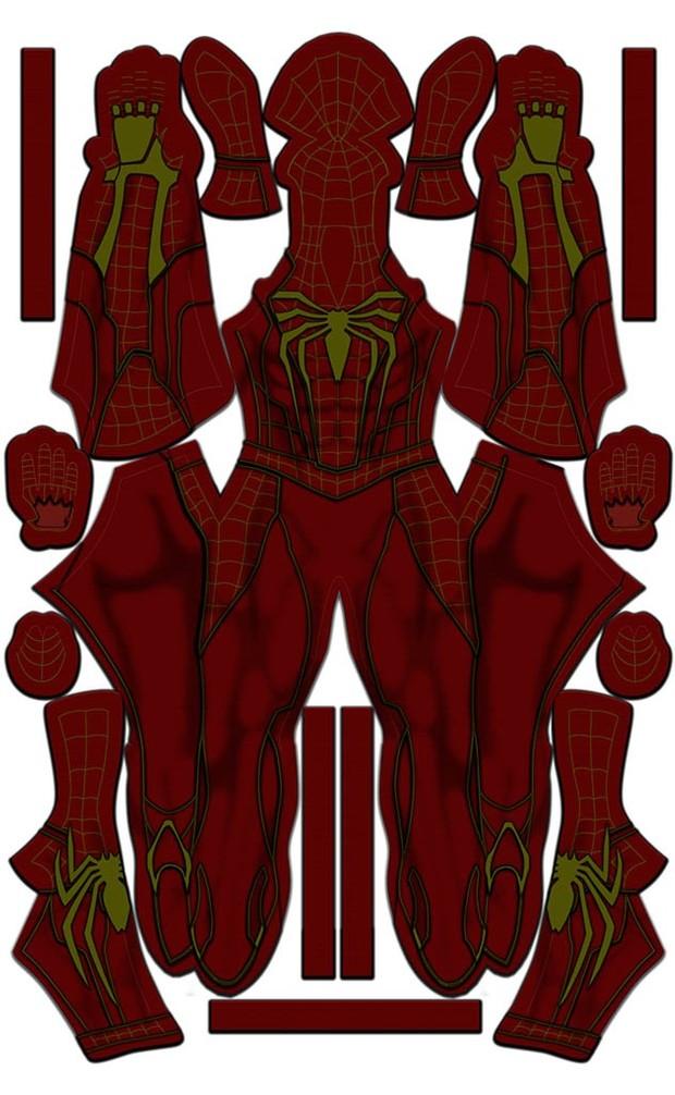 Iron Spider PS4 Design