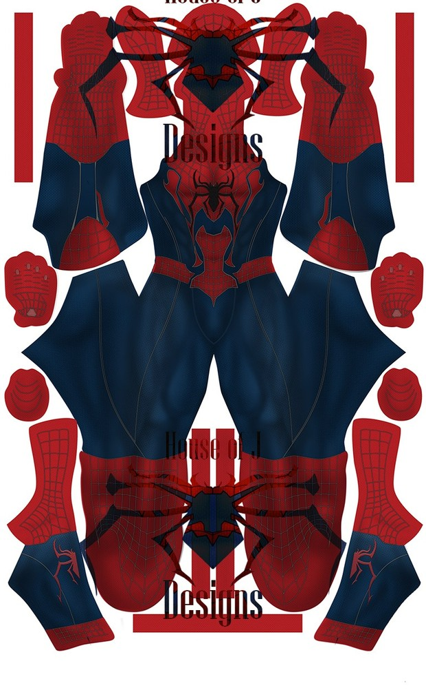 Spider-man (Concept 1) Pattern