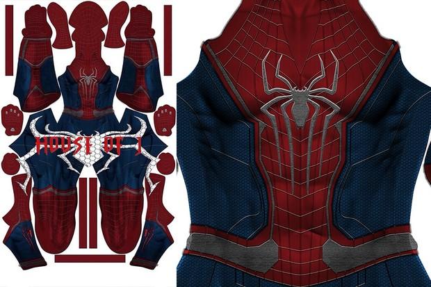 Civil War + TASM 2 mix Suit Pattern (light)