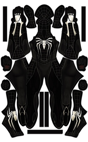 Spider-Man PS4 Symbiote Design