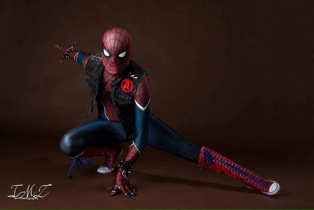 Custom Punk Spider-Man