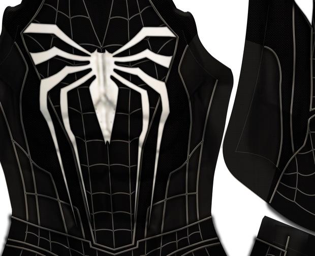 Spider-Man PS4 Symbiote Design