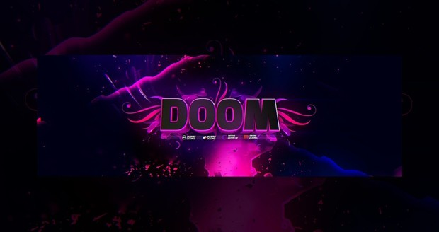 DOOM Header PSD+C4D