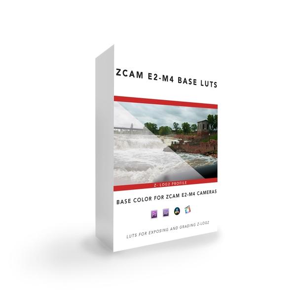 ZCAM E2-M4 Base LUT Pack