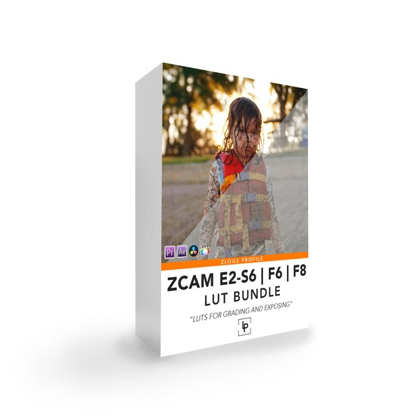 ZCAM E2 - S6 | F6 | F8 LUT BUNDLE