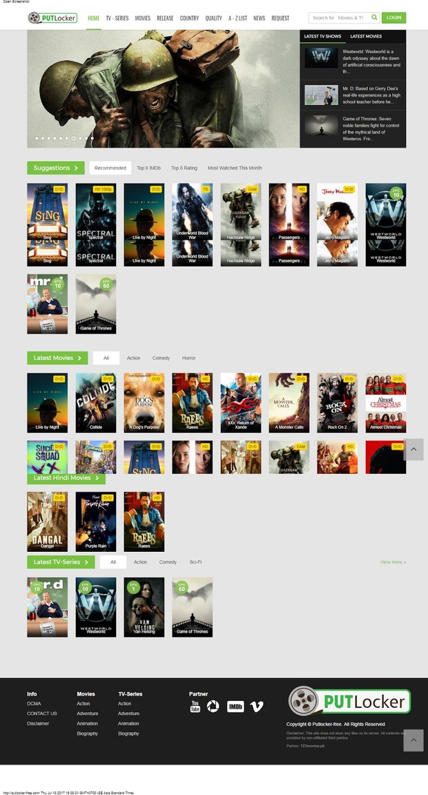 123Movies Php Script Clean