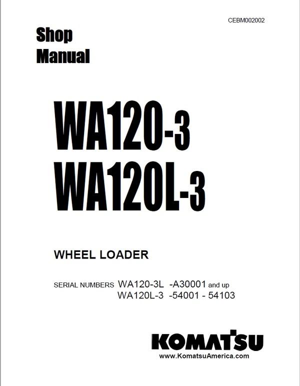 Doosan Shop Manual DL400 5001 and up Wheel Loader K101