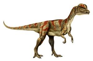 DILOPHOSAURUS AR MARKER