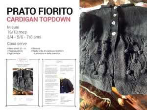 Prato Fiorito / Cardigan Top down