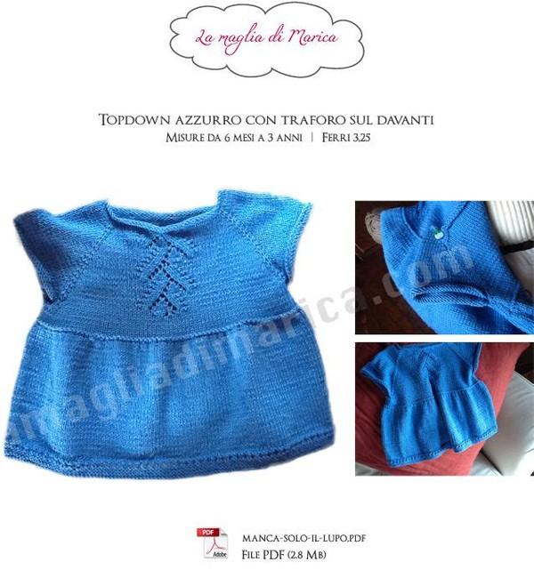 Top Down Azzurro