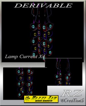 87. Lamp Current X4 Mesh Furniture