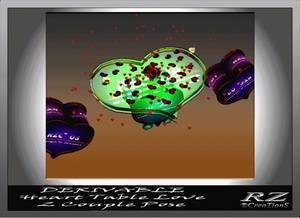 156. Valentine Table 1 Poses With Particles Mesh Furniture