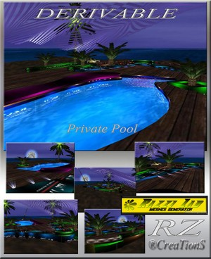 12. Private Pool Mesh Room
