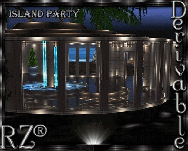 62. Island Party Mesh Room