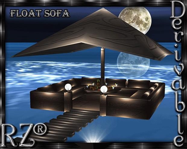 42. Float Sofa Mesh Furniture