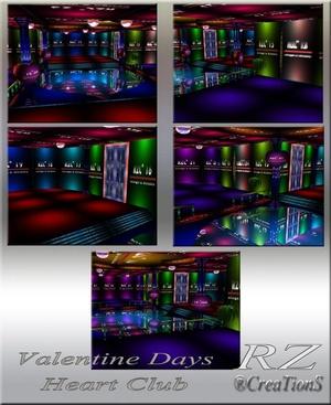 150. Valentine Days Mesh Room
