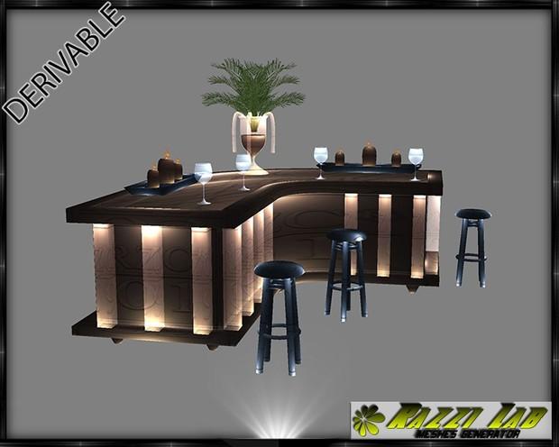 197. Practico Bar Furniture Mesh