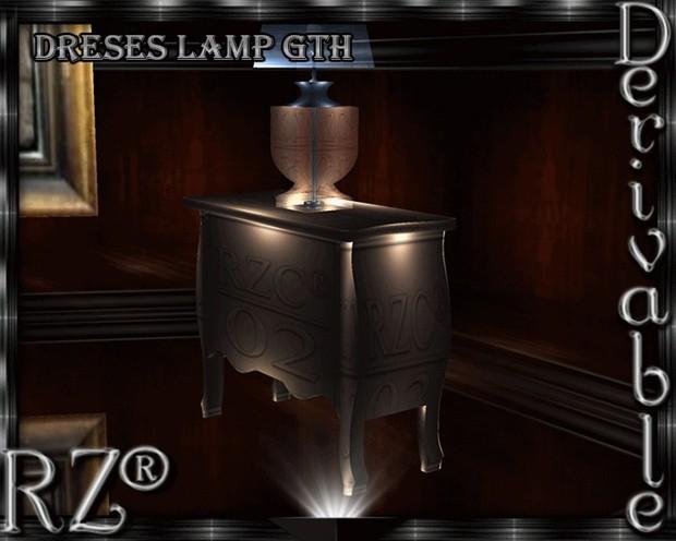 69. Dresser Lamp Mesh Furniture