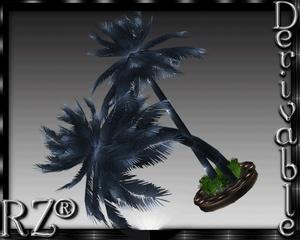 123. Tiki Palm Pot 2015 Mesh Furniture