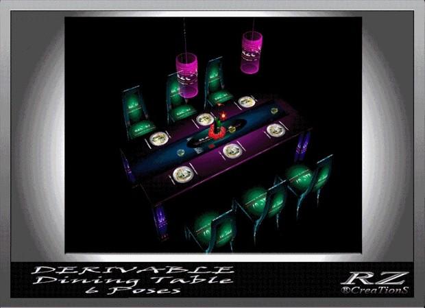 27. Dining Table Xmas Mesh Furniture