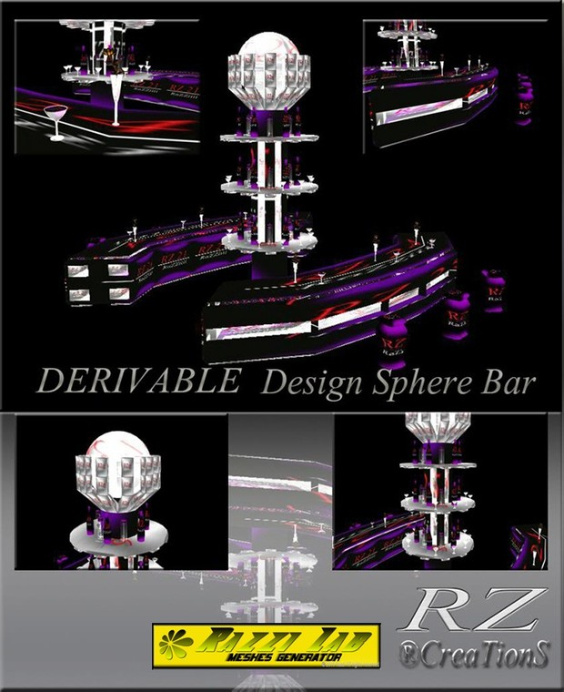 112. Design Sphere Bar Mesh Furniture