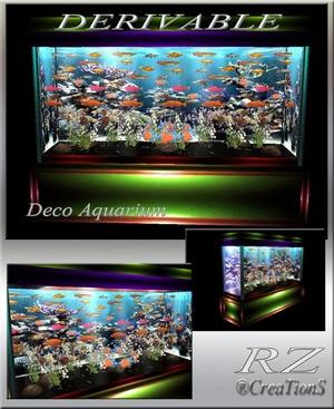 182. Decoration Aquarium Mesh Furniture