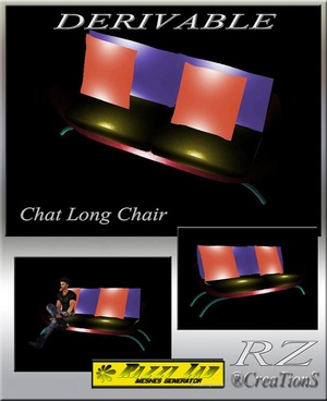 115. Chat Long Chair Mesh Furniture