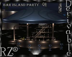 43. Bar Island Party Mesh Furniture