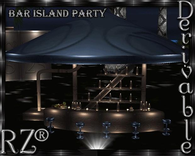 43. Bar Island Party Mesh Furniture