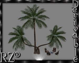 133. Tiki Encounter Chair 4 Poses Mesh Furniture