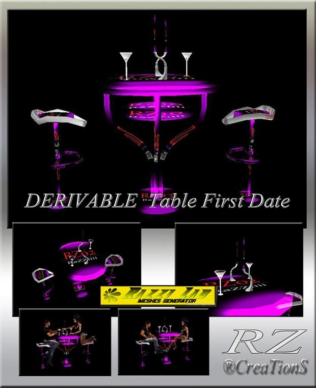 95. Table First Date Mesh Furniture