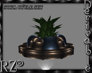 85. Sofa Cycle Set Mesh Furniture