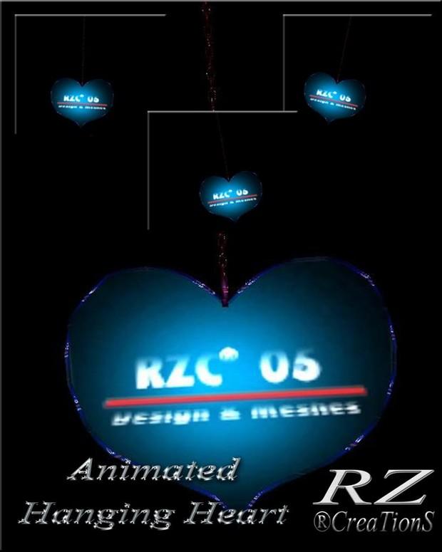 153. Animate Hangin Heart Valentine Mesh Furniture