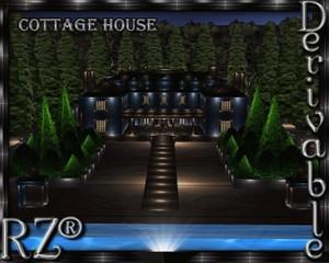 31. Cottage House Mesh Room