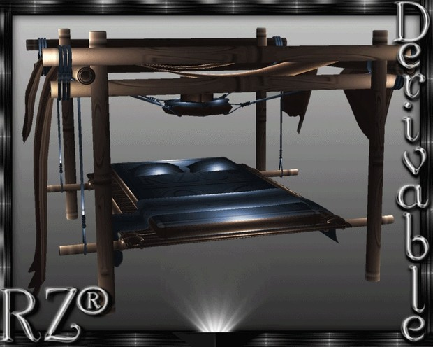 121. Tiki OutBed 2015 With Poses Mesh Furniture