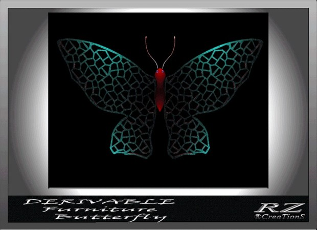 18. Wall Butterfly Mesh Furniture