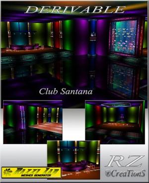 14. Club SaNtaNa Mesh Room