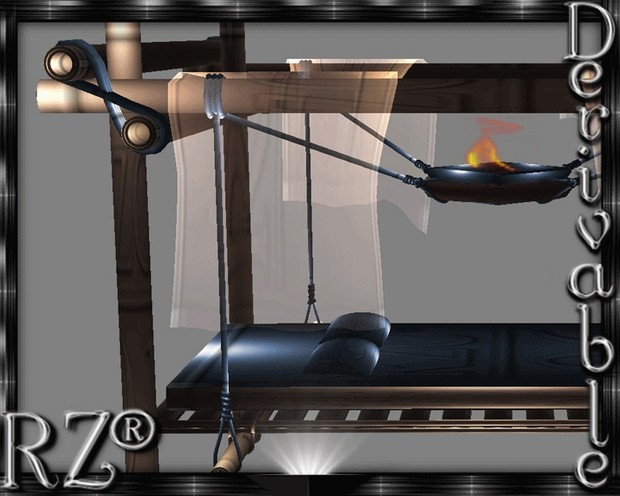 122. Tiki OutBed 2015 Without Poses Mesh Furniture