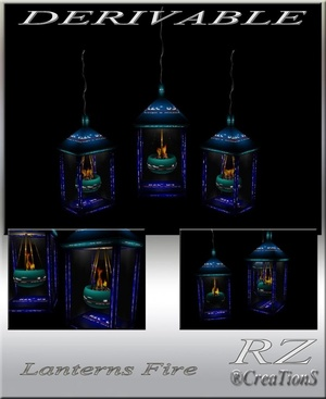 167. Lanterns Fire Decoration Mesh Furniture
